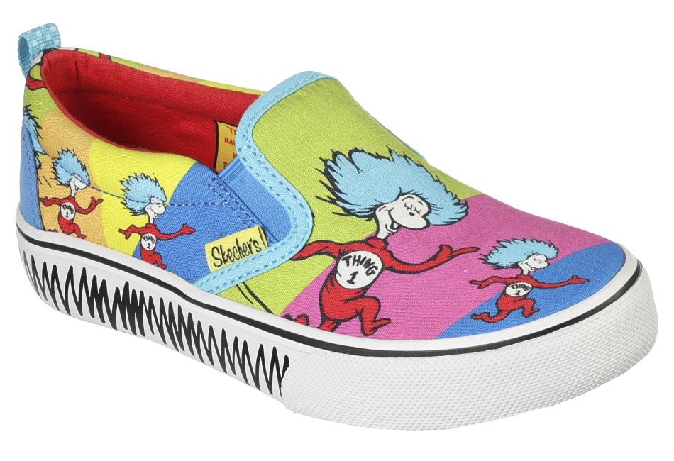 Dr. Seuss es uno de los íconos culturales más grandes del mundo y todos hemos leído alguno de sus libros. Y ahora, sus personajes quedarán plasmados en la nueva colaboración de Skechers.