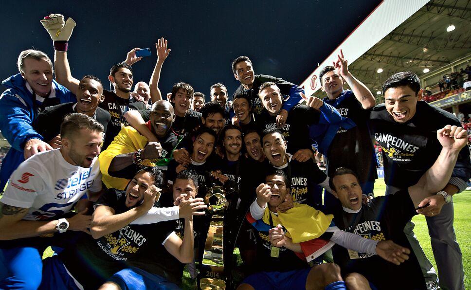 Concachampions Cruz Azul Campeón 2014