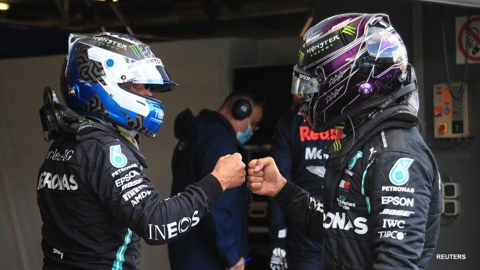 Valtteri Bottas en el Gran Premio de Eifel