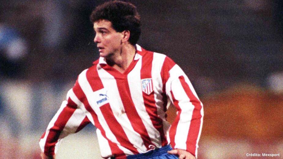 Luis García en el Atlético de Madrid