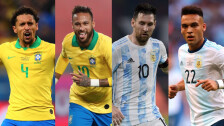 Los jugadores más caros de la Copa América