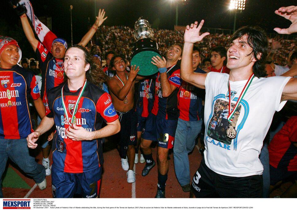 Atlante, campeón del Torneo Apertura 2007