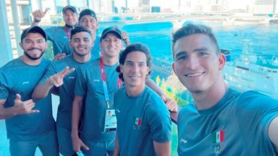 Selección Mexicana de Futbol en Villa Olímpica Tokyo 2020