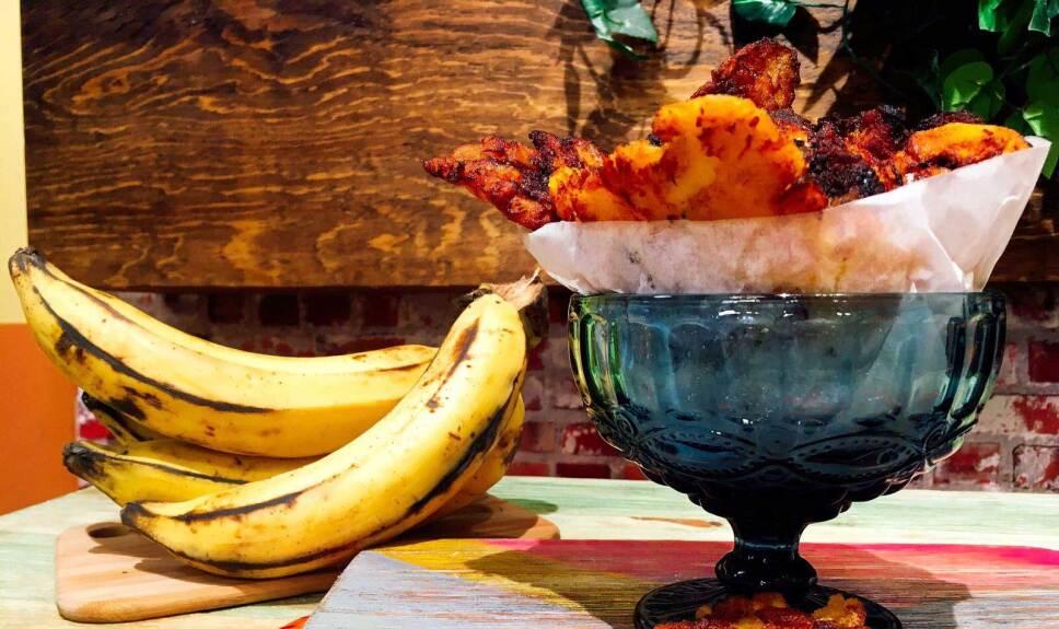 Receta Plátanos a puñetazos Cocineros Mexicanos