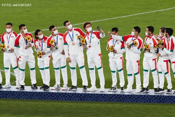FOTOS: Ceremonia de premiación futbol varonil Tokyo 2020