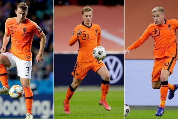 23 futbolistas jugadores holandeses holanada eurocopa 2020.jpg