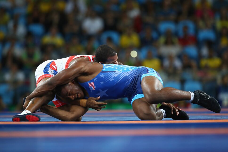 Wrestling - Olympics: Day 15
