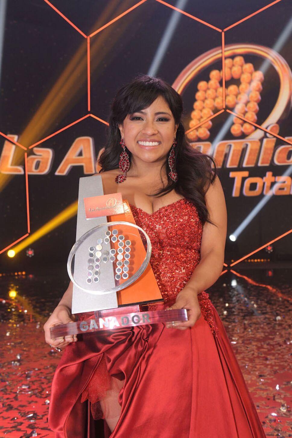 Paola gana La Academia 2018
