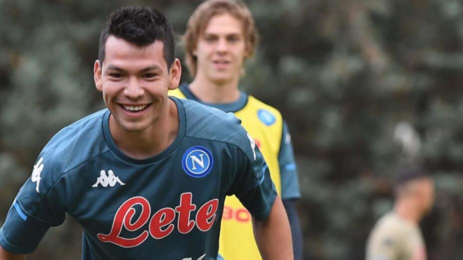 "Hirving ""Chucky"" Lozano Everton Napoles"