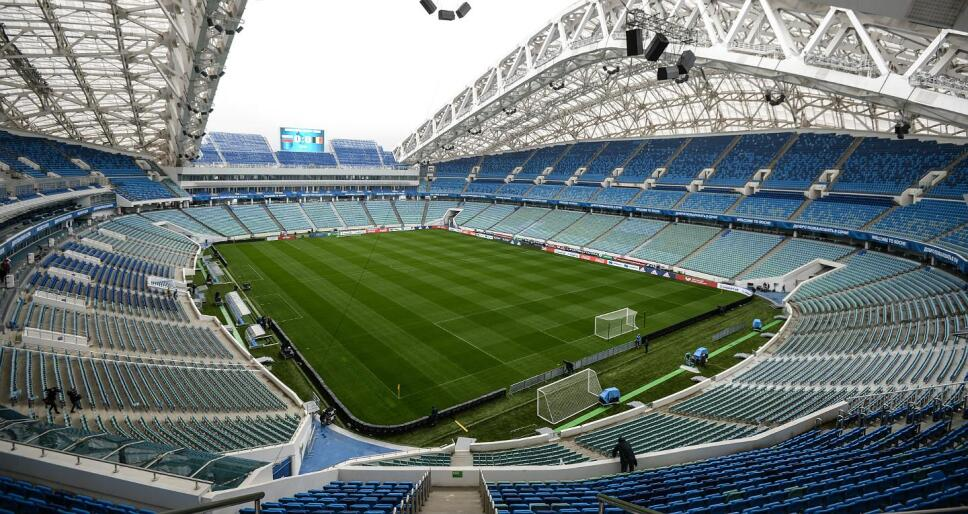 Así luce el estadio que albergara los primeros partidos mundialistas  / Foto: Especial