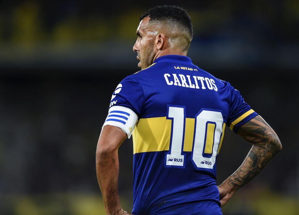 Carlos Tévez campeón con Boca Juniors de Argentina