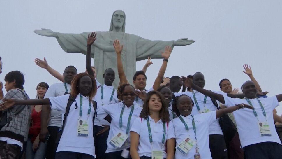 El equipo olímpico de refugiados que participó en Río 2016 constó de 19 personas.