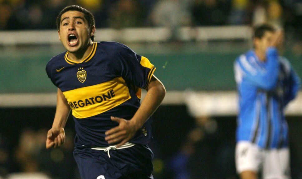 Riquelme Boca Juniors