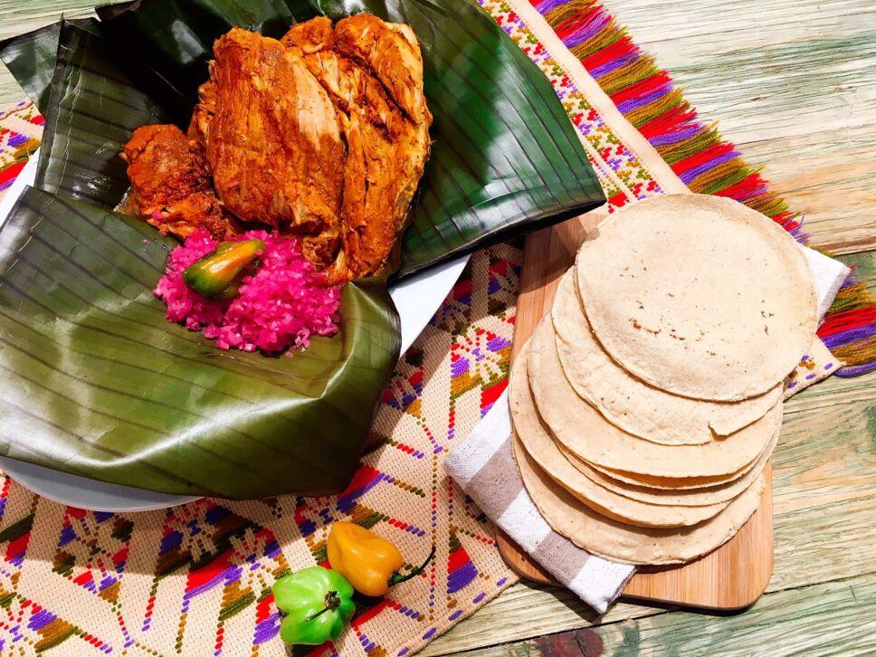 Receta Cochinita pibil Cocineros Mexicanos