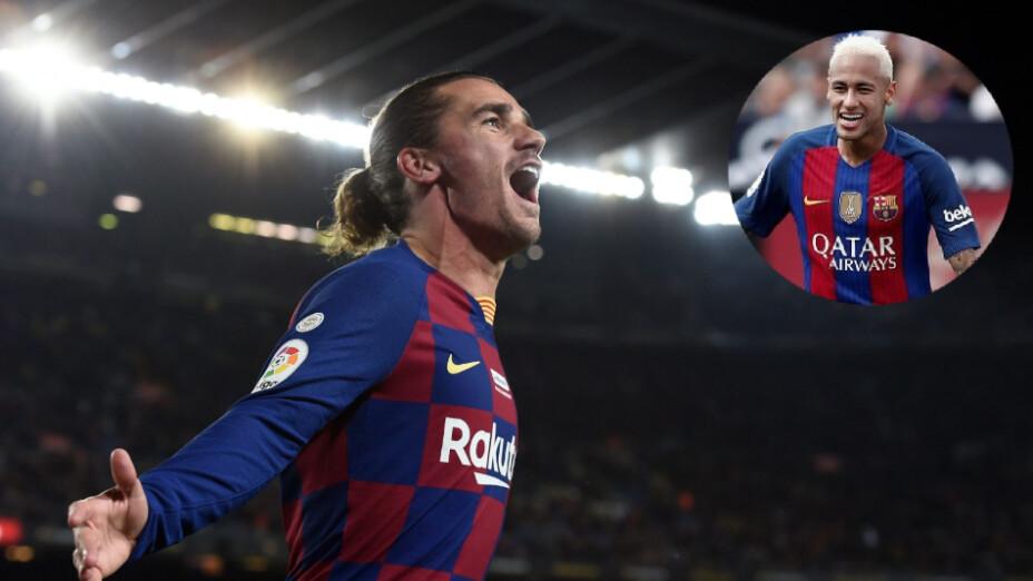 Barcelona Neymar y Griezmann