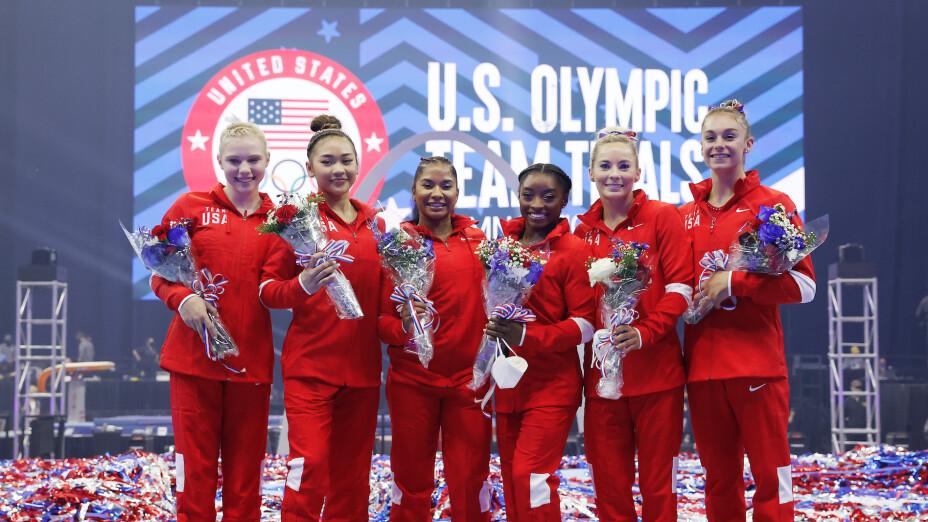 Equipo de gimnasia de EUA