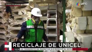 Reciclaje de unicel en México