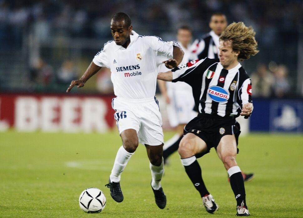 Flavio Conceiçao en el Real Madrid
