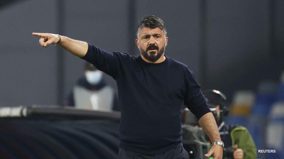 El técnico del Napoli Gennaro Gattuso