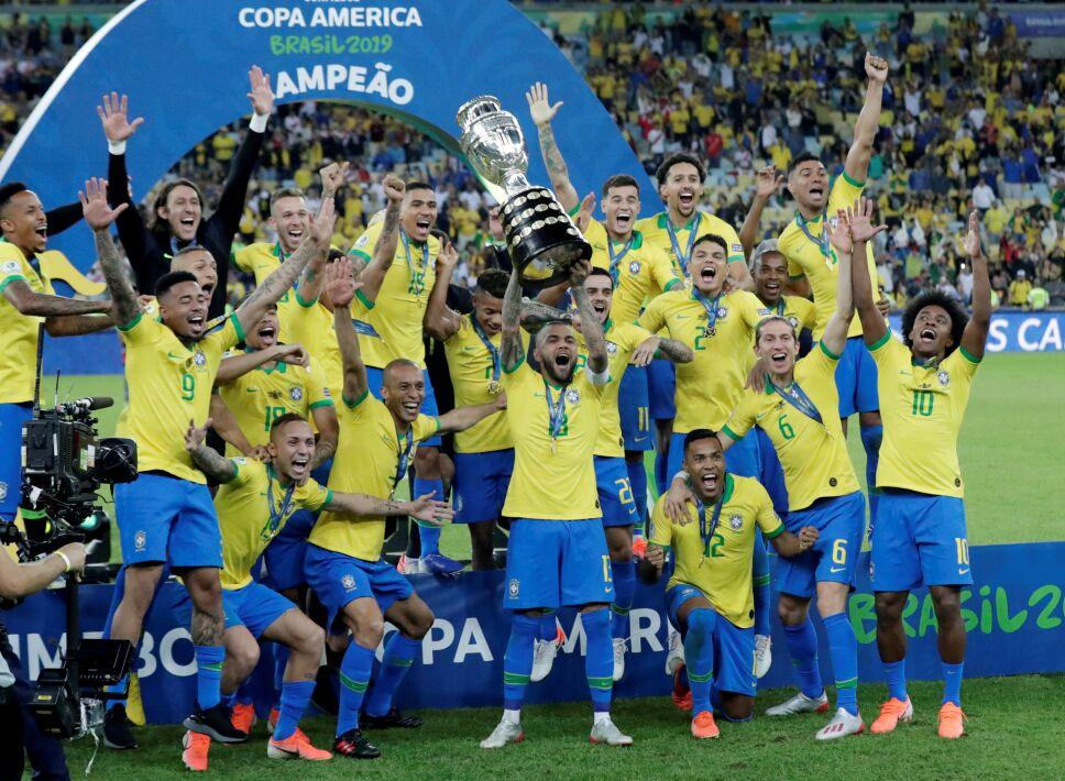 Brasil ganó la Copa América de 2019 como anfitrión.