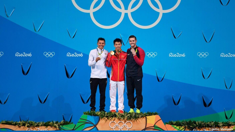 5 medallistas mexicanos en Río 2016 Juegos Olímpicos.jpg