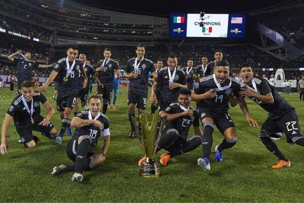 Selección Mexicana Copa Oro 2019