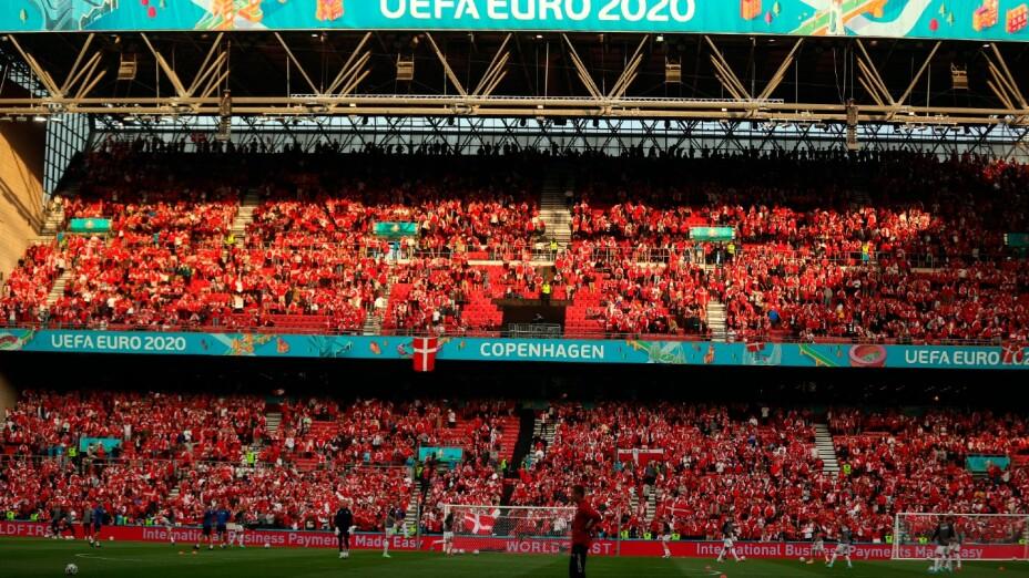 Estadio Parken, sede de la Euro 2020