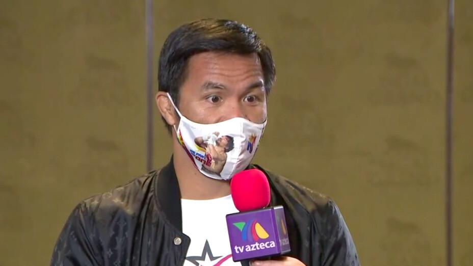Manny Pacquiao vs Yordenis Ugás Box Azteca