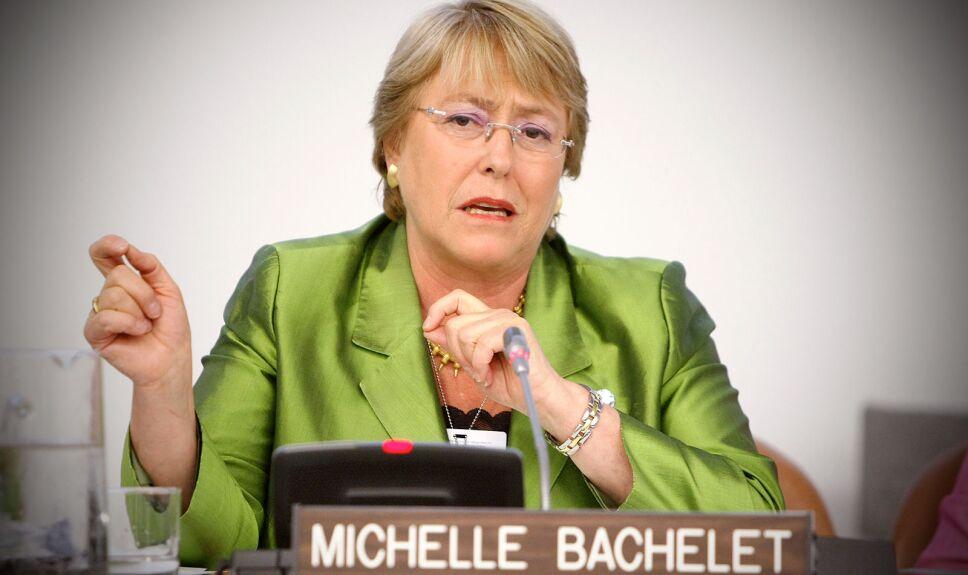 Michell Bachelet promociona la cinta Lincoln