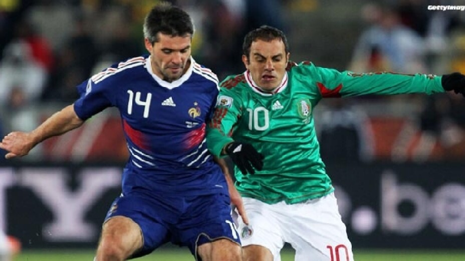 Negocia FMF partido México vs Francia