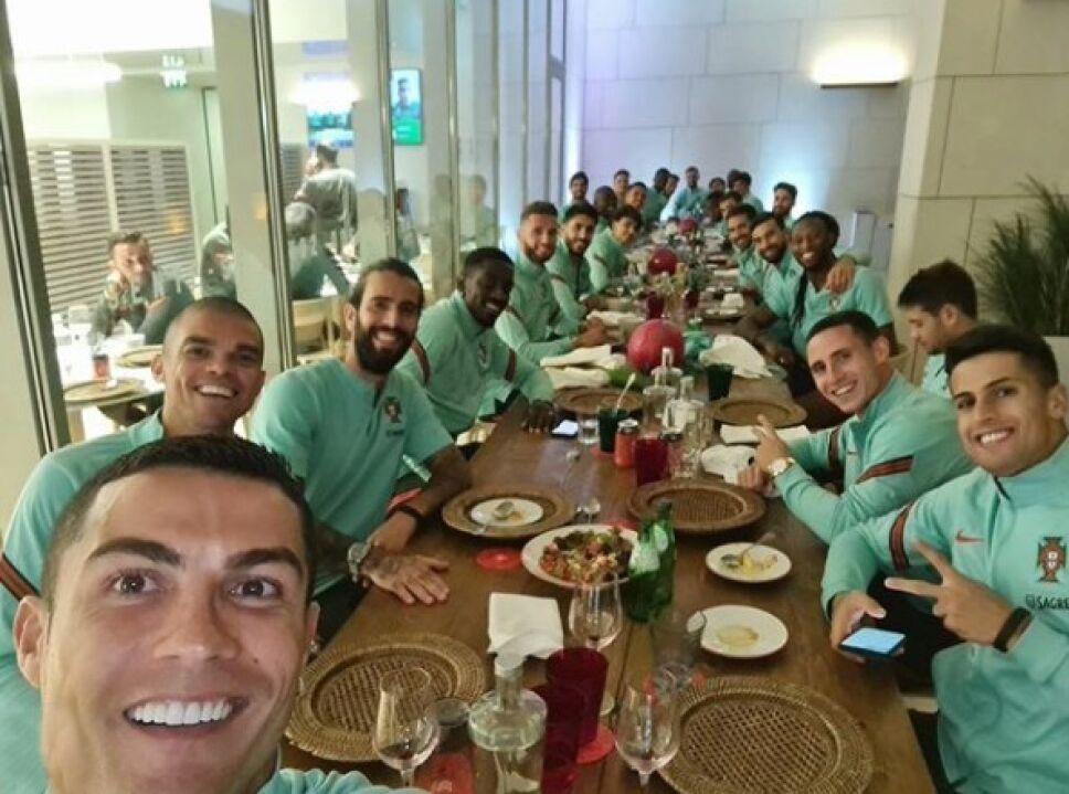Cristiano Ronaldo Portugal coronavirus