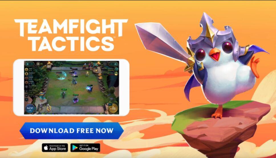 El juego de TFT esta disponible para Android e IOS