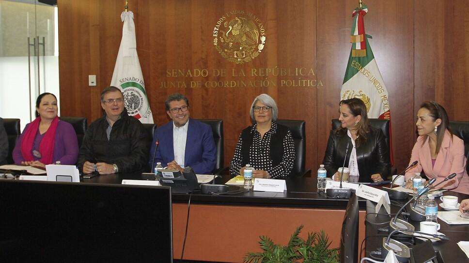 Reunión de la Junta de Coordinación Política