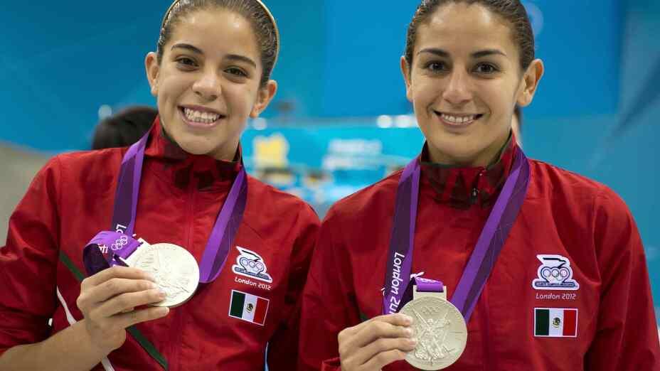 Medallistas mexicanos de clavados en los Juegos Olímpicos