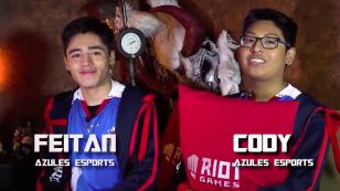 Feitan y Cody de Azules aceptaron el Reto Azteca esports