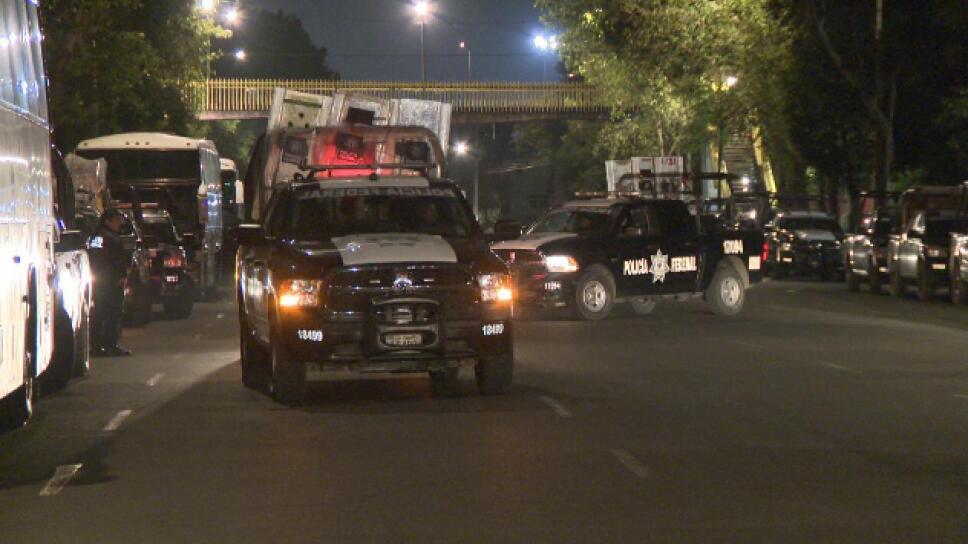 Mil policías CDMX en San Lázaro