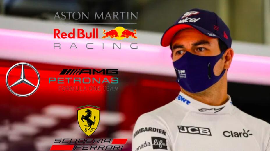 """En Italia dicen que a """"Checo"""" le pueden salir alas, lo quiere una escudería importante de la F1"""