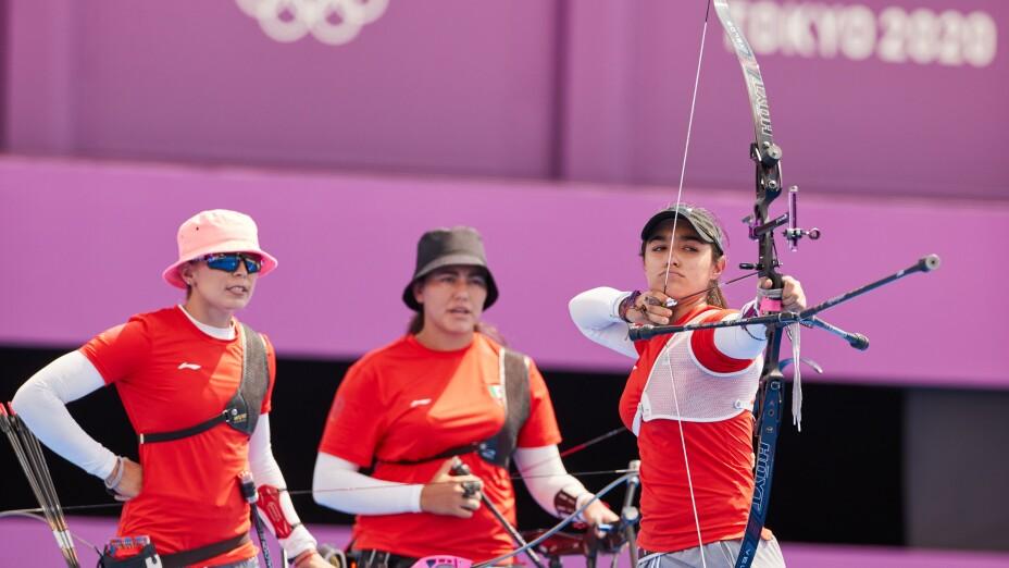 Ana Paula Vázquez en la prueba por equipos en Tokyo 2020