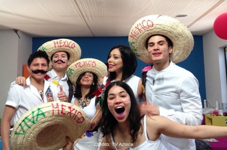 ¡Los alumnos se pusieron muy mexicanos!