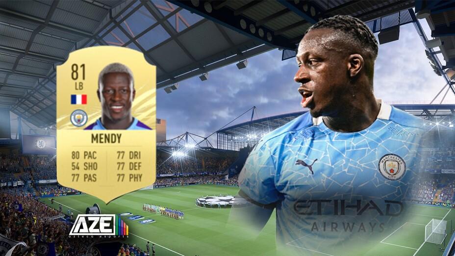 Benjamin Mendy fuera de FIFA 22