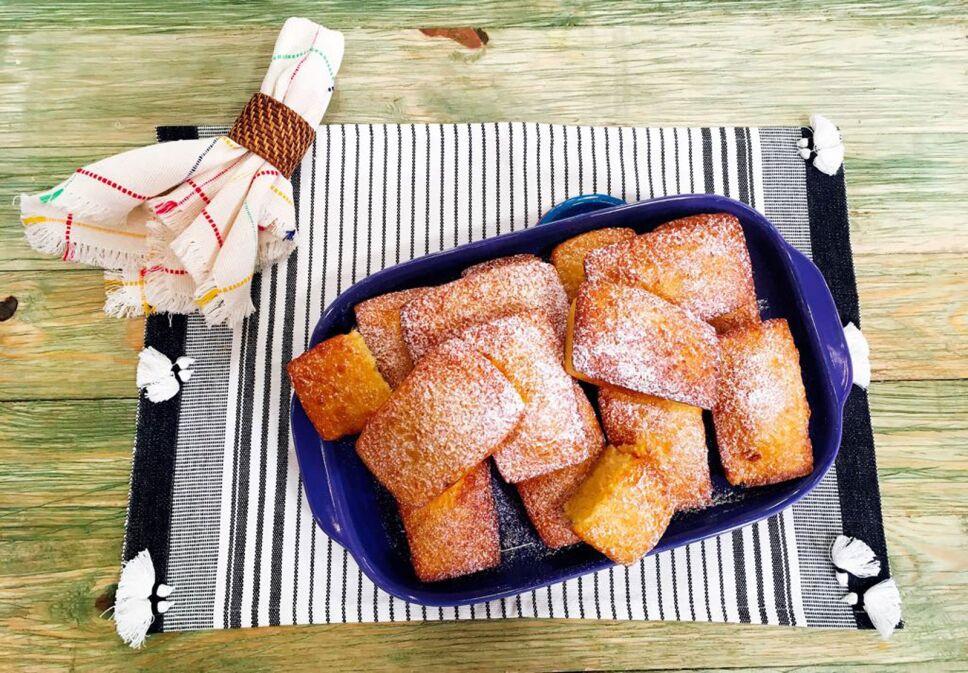 Receta Pan de elote Cocineros Mexicanos