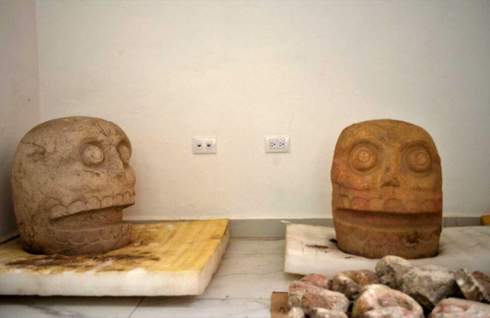 Descubren el primer templo dedicado a Xipe Tótec en Puebla