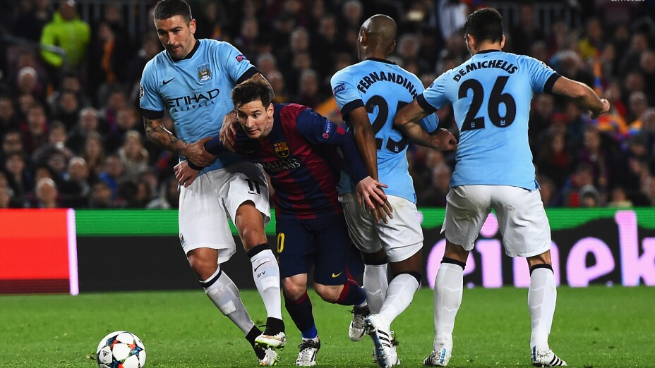 Barcelona vs Manchester City online