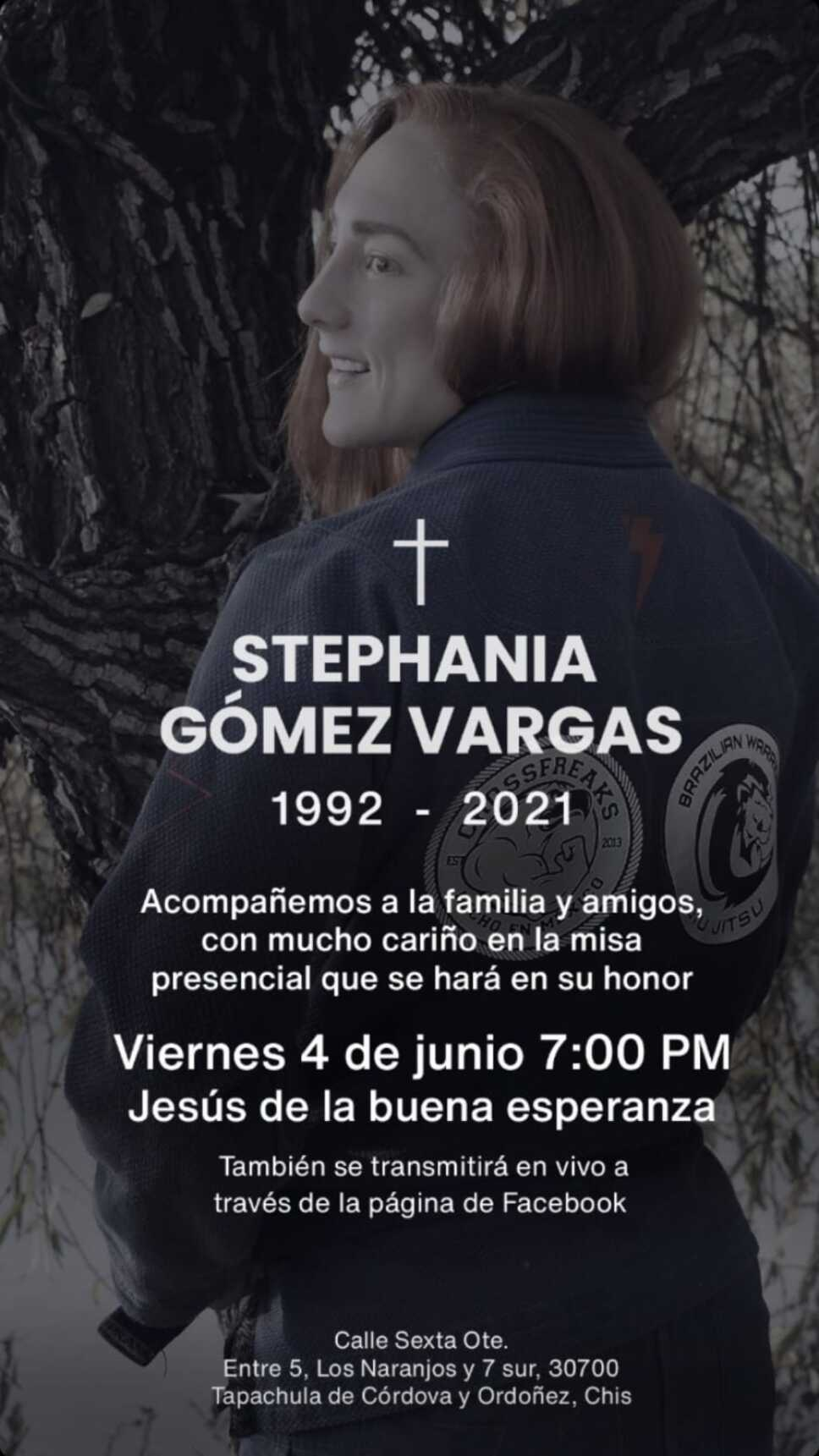 Despiden a Steph Gómez con emotiva misa