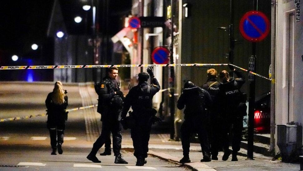 ataque en Kongsberg