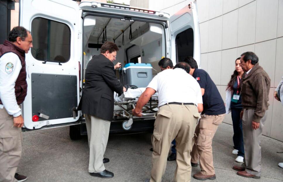 Llega décimo corazón al hospital de la Raza para nueva vida