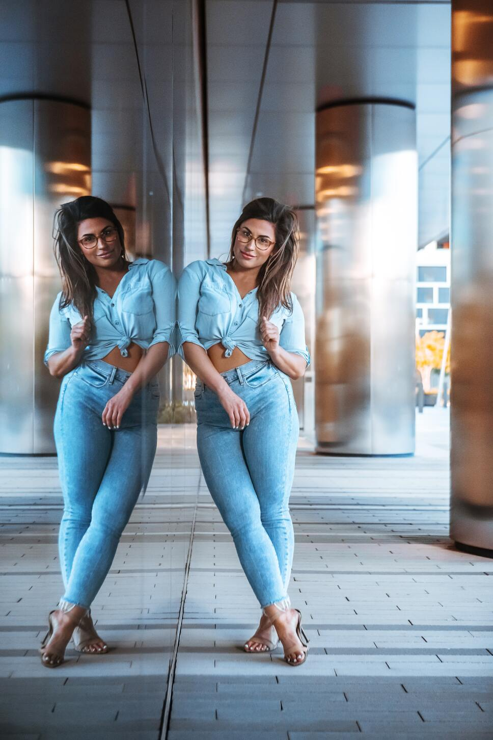 Jeans a la cintura