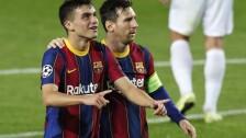 Lionel Messi en Champions.