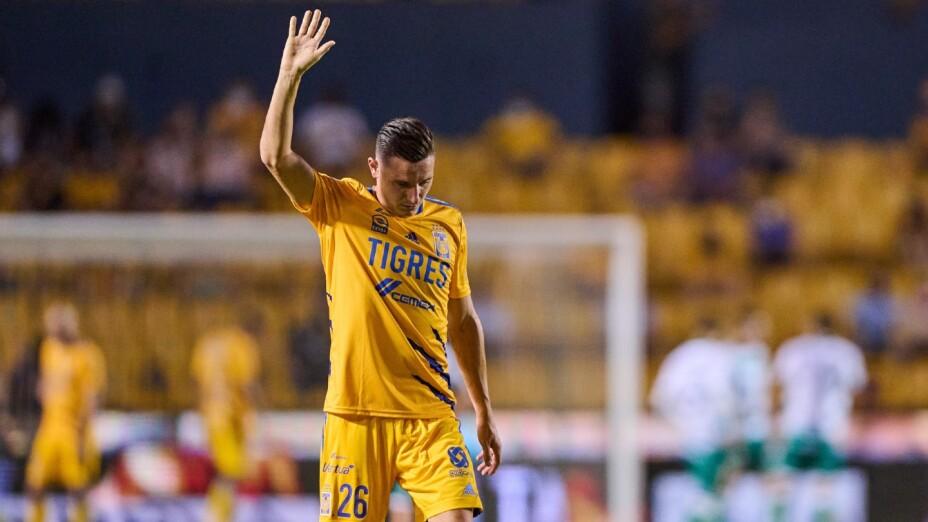 Florian Thauvin con Tigres de la UANL