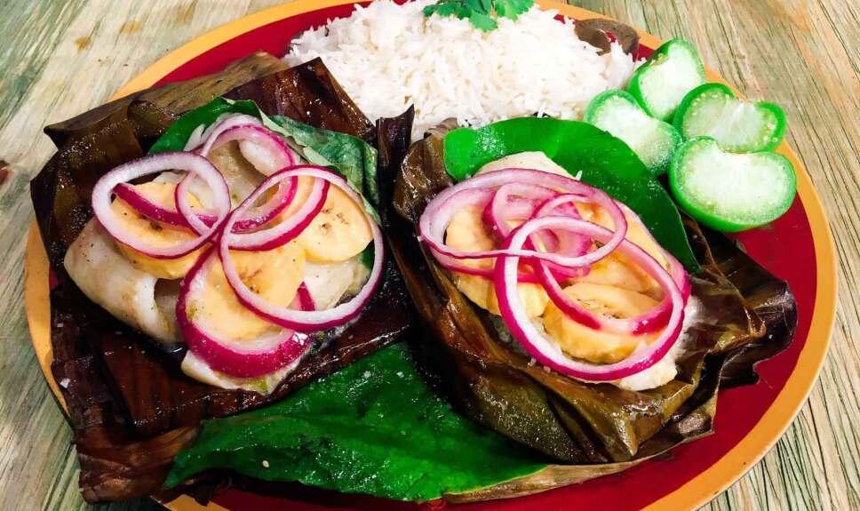 Receta Tapiste de pescado en hoja de plátano Cocineros Mexicanos
